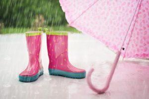 不安定な天気とココロ